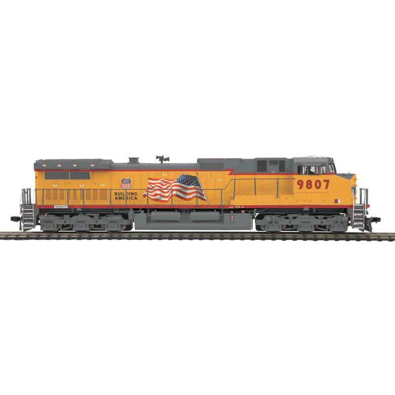 MTH Union Pacific #9807 DASH 9 DCC w/ Proto-Sound 3 0 8023081