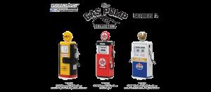 GreenLight 1:18 1948-54 Vintage Gas Pumps Series 4 Wayne, Tokheim Diecast -14040
