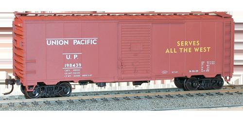 Union Pacific 40' AAR Single Door Steel Boxcar - 35049