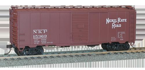 Nickel Plate 40' AAR Single Door Steel Boxcar - 35191