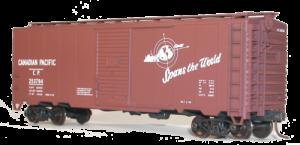 CP 40' AAR Single Door Steel Boxcar - 35239