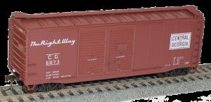 Central of Georgia  40' AAR Double Door Steel Boxcar - 3637
