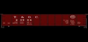 Toledo & Ohio Central/NYC 41' Steel Gondola - 3768