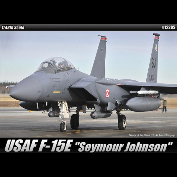 """Academy 1/48 Scale USAF F-15E Strike Eagle """"Seymour Johnson"""" - 12295"""