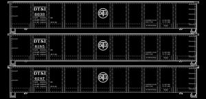 Nashville, Chattanooga & St Louis 41' Steel Gondola - 37584