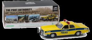 GreenLight 1:18 1977 Plymouth Fury NY/NJ Port Authority Police Diecast - 19056