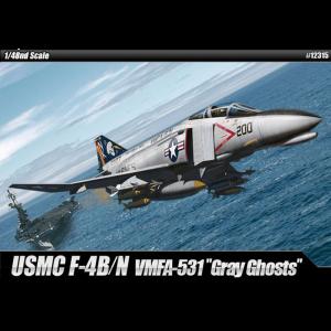 """Academy 1/48 Scale USMC F-4B/N VMFA-531 """"Gray Ghosts"""" - 12315"""
