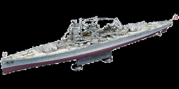 Academy 1/350 Scale German Admiral Graf Spee Battleship - 14103