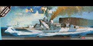 Academy 1/350 Scale British HMS Warspite Queen Elizabeth Class 1943 - 14105