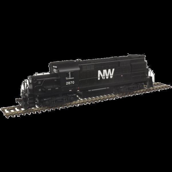 Atlas Trainman RS-36 Norfolk & Western #2870 Diesel Locomotive - 10002648