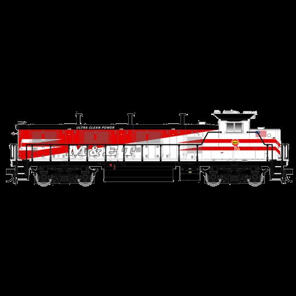 Atlas Trainman Gold NRE GENSET II Modesto & Empire Traction #2002 Loco-10002684