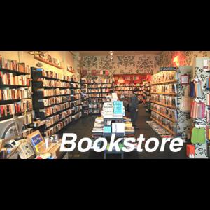 """City Classics Bookstore Picture Window 4""""W x 2 1/8""""H - 1401"""