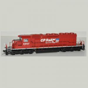 Bowser SD40-2 CP Rail #5596 DC Locomotive - 24456