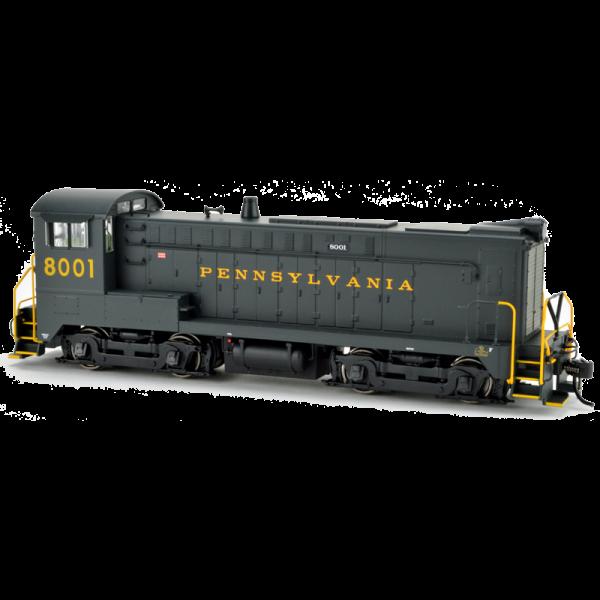 Bowser DS 4-4-1000 PRR #8001 DCC Locomotive - 24803