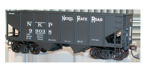 Nickel Plate USRA Twin Hopper - 25162