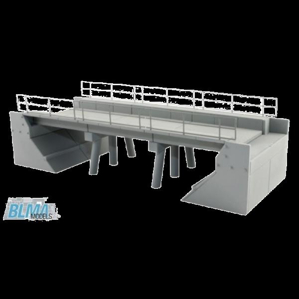BLMA Modern Concrete Segmental Bridge Kit Set A - 4390