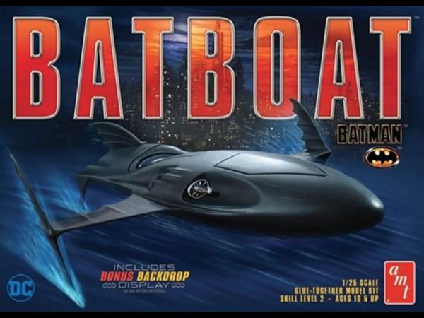 AMT 1:25 Scale Batman Batboat - 1025