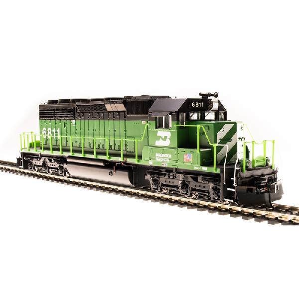 Broadway BN #6923 SD40-2 Green & Black Diesel Locomotive - 5363
