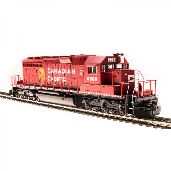 Broadway CP #6608 SD40-2 Golden Beaver Diesel Locomotive - 5365