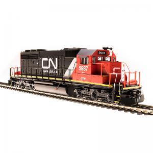 Broadway CN #5937 SD40-2 Website Scheme (sublettered GTW) Diesel Locomotive-5367