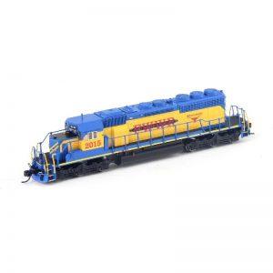 Broadway FWWR #2015 SD40-2 Butch Cassidy Diesel Locomotive - 5376