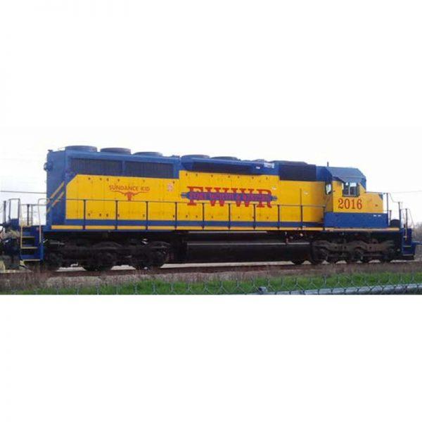 Broadway FWWR #2016 SD40-2 Sundance Kid Diesel Locomotive - 5377