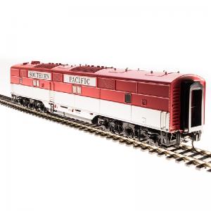 Broadway SP #6002C EMD E7 B Unit Golden State Scheme Diesel Locomotive - 5420