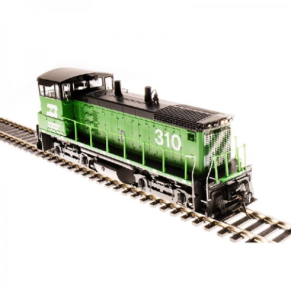 Broadway BN #312 EMD SW1500 Green & Black Diesel Locomotive - 5445
