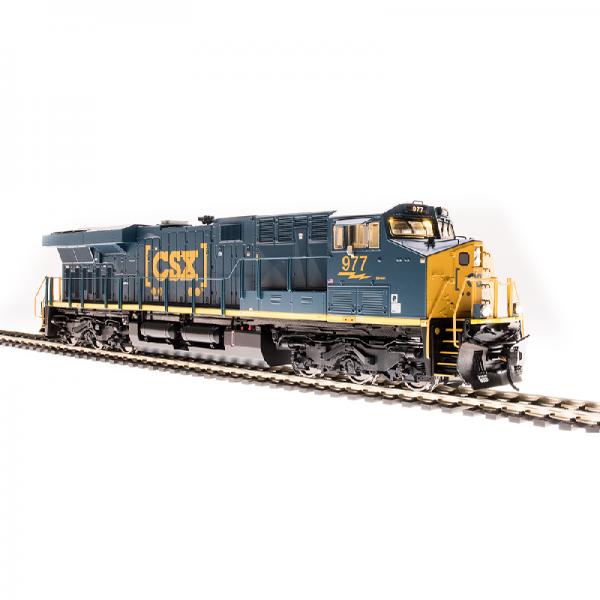 Broadway CSX #993 GE ES44AC Boxcar Scheme w/ Smoke - 5863