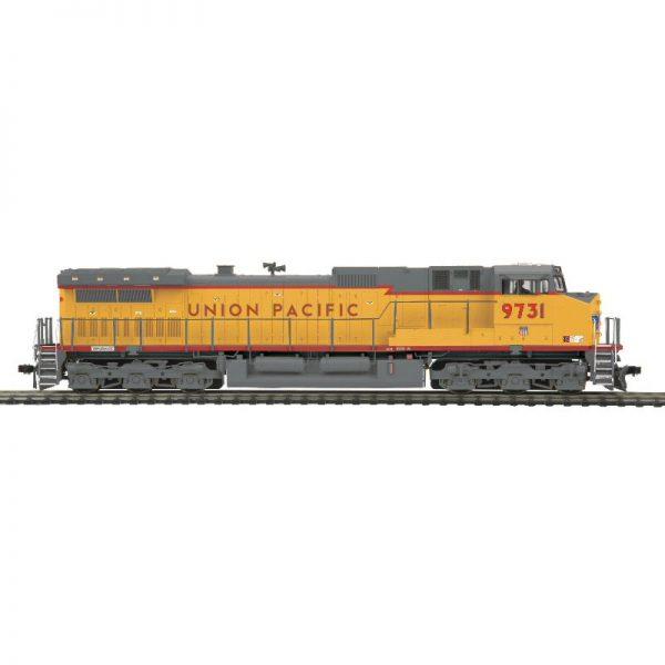 MTH UP #9731 DASH 9 Red Stripe Diesel Locomotive DCC Ready - 8023100