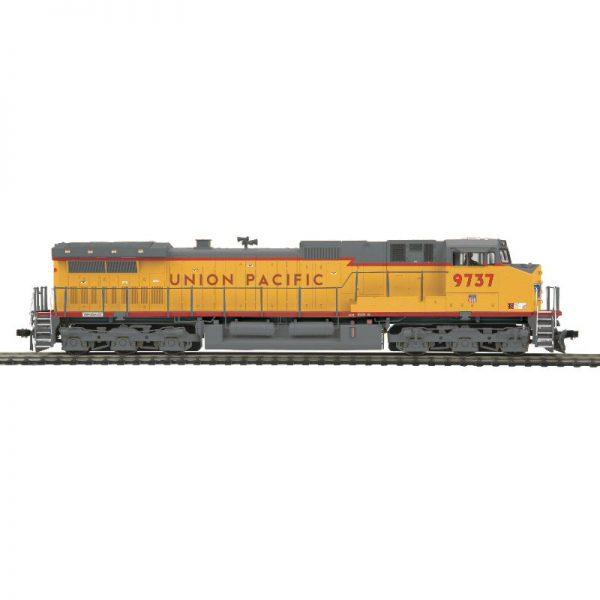 MTH UP #9737 DASH 9 Red Stripe Diesel Locomotive DCC Ready - 8023110