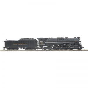 MTH Pere Marquette #1227 N1 Berkshire 2-8-4 Sm Letter Steam Loco ProtoSound/DC/DCC - 8032911