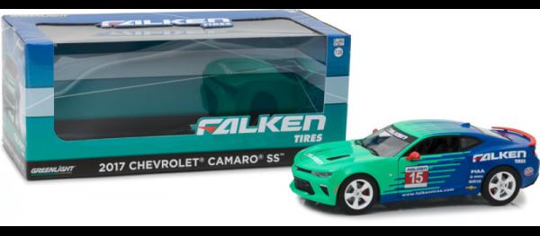 GreenLight 1:24 2017 Chevrolet Camaro SS Falken Tires  Diecast -18241
