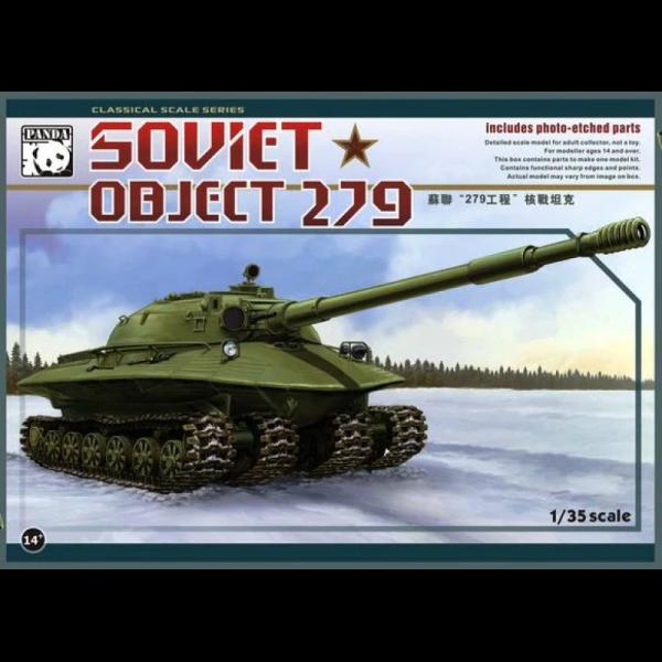 Panda 1:35 Scale Soviet Object 279 Heavy Tank - 35005