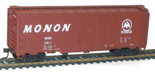 Monon  40' AAR Single Door Steel Boxcar - 3554